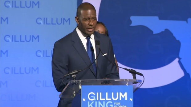Andrew Gillum & Beautiful Wife Together