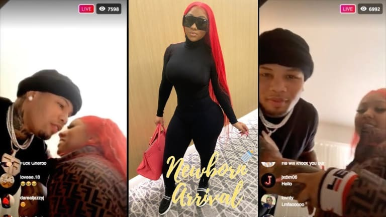 Fans Call Child Services On Gervonta Davis' Girlfriend Ari!! (Video)