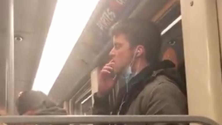 Man Arrested For Attempting To Spread 'Coronavirus' On Subway! (Graphic)