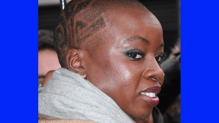 Danai Gurira From BLACK PANTHER . . . Gets Long WEAVE!! (Pics)