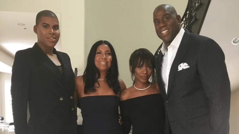 Magic Johnson's Daughter Shows . . . New Breast Implants!!!