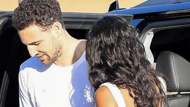 NBA Star Klay Thompson Back Together W/ Actress Laura Harrier!!