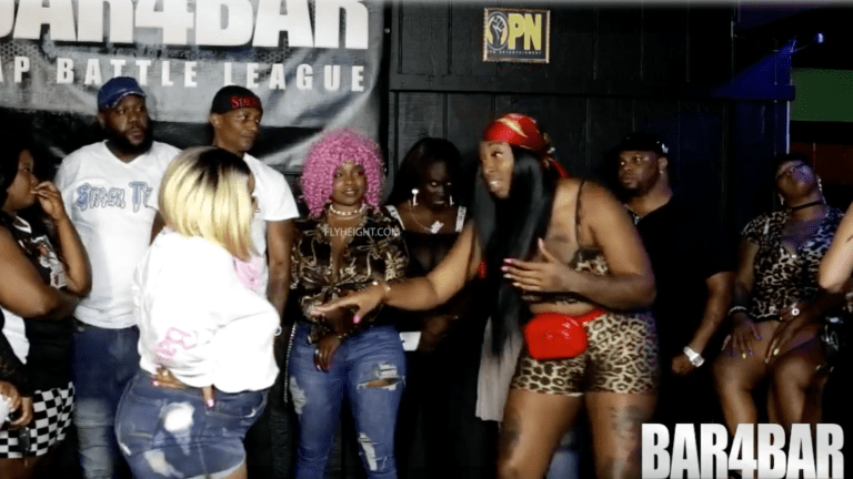 Battle Rapper Leaks Her Opponents Nudes During Freestyle!!