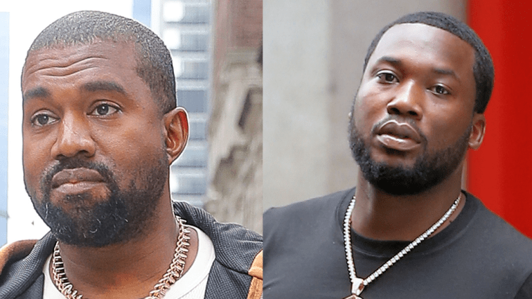 Meek Mill & Kanye West BEEF - They Trade Shots On Instagram!!