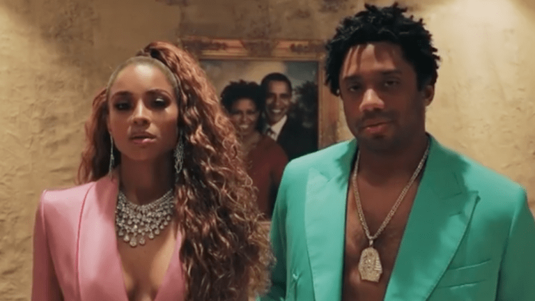 Ciara & Russell Wilson Dress As Jay Z & Beyonce For Halloween!!