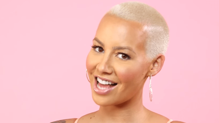 Amber Rose Shares Peek Of Newborn Son Slash Electric