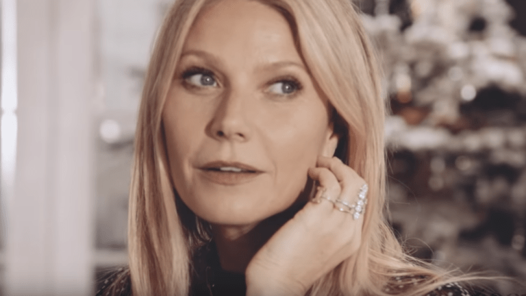 Gwyneth Paltrow Gifts Herself A Vibrator In New 'Goop' Ad!!