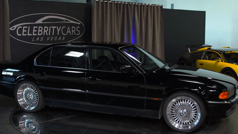 The Car That Tupac Was MURDERED IN - Is Being Sold At Auction!! (Pics)