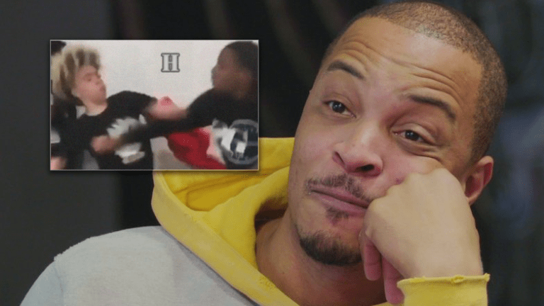TI's Son KING Gets Into School Fight - And He Held His Own!! (Video)