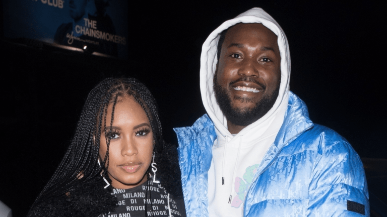 Meek Mill CONFIRMS His GF's Expecting: 'Yeah I Dumped In That'!!