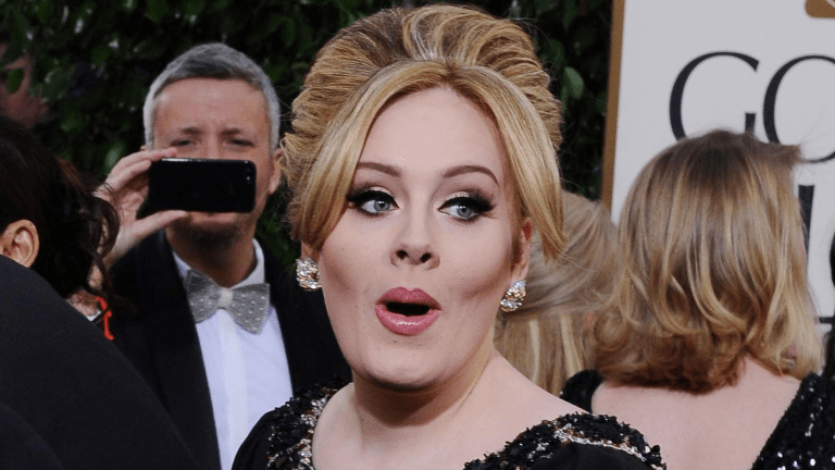 New 'Skinny' Adele Is Aging Badly - Close Up Pics Of The 31 Yr Old's Face!!