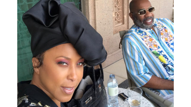 Steve Harvey Takes FAMILY On African Vacation!!  (Daughter Pics)