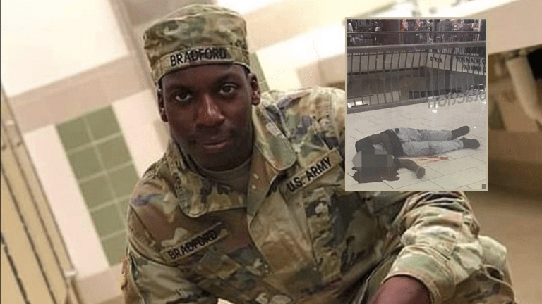 Black Soldier SHOT Dead By Police . . . Trying To Stop Mass Shooting!! (Graphic Pics)