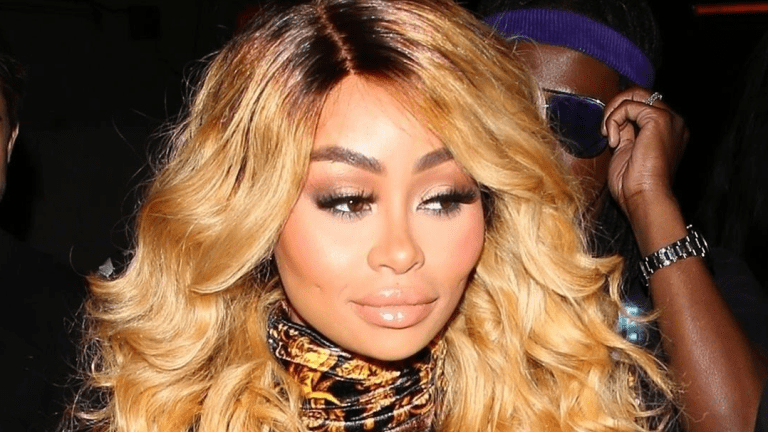 Blac Chyna Unveils Her Newly LIPOSUCTIONED FACE!!! (Pics)