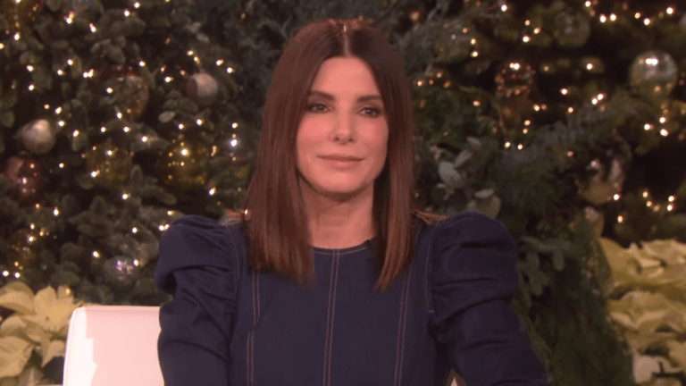 Sandra Bullock Used To Crush On Keanu Reeves