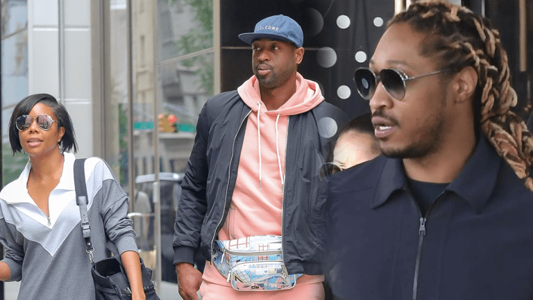 Future BANNED From Miami Arena For 'Shading' Dwyane Wade's Baby