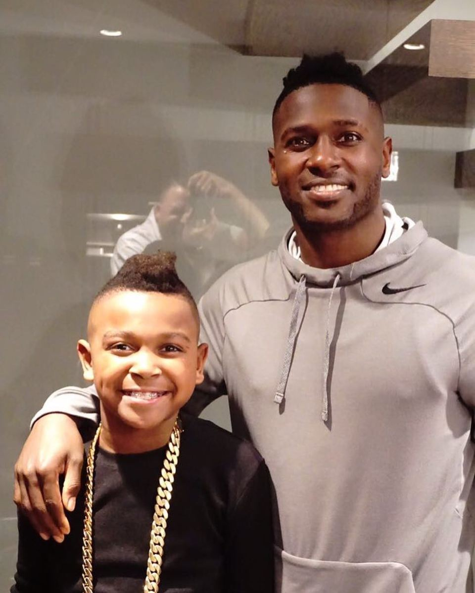 Nfls Antonio Brown Is Ruthless    Look What He Said To Babys Mom - Mto News-5642